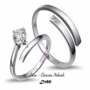 cincin kawin couple tunangan peralk emas palladium