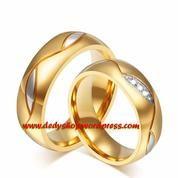cincin kawin, couple, tunangan, nikah, perak emas palladium