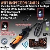 Borescope WP200HD Wifi INSPECTION CAMERA with 1M & 5M camera probe
