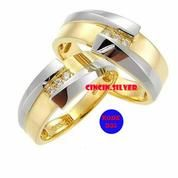 cincin kawin palladium, emas, pernikahan, couple, tunangan