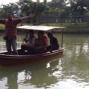 Produksi sendiri Perahu Dayung fibreglass anti bocor