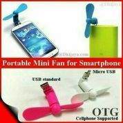 Kipas Angin Mini 2 in 1 ( USB dan MICRO ) for android