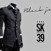 Jas Pria, Jas Blazer, Jas Keren Black Korean Style | SK-39