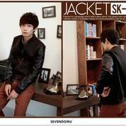 Jaket Pria, Jaket Baseball Comby Style | SK-37