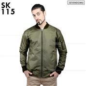 Jaket Bomber, Jaket Pria, Jaket Stylish Bomber | SK-115