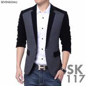 Jas Pria, Jas Blazer, Jas Keren Slim Fit Comby Style | SK-117