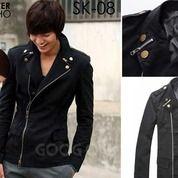 Jaket Pria, Jaket Korea, Jaket Keren Double Zipper | SK-08