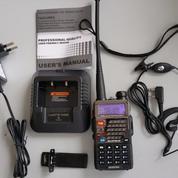 Radio HT walkie talkie dual band BAOFENG UV-5RE PLUS