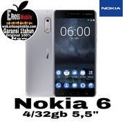Nokia 6 Android Ram 4 Internal 32gb New Original Cash/ Ktp+Kk Doank