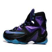 Sepatu Basket Nike Lebron 14 Black Purple