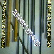 Blank Rod Carbon / Blank Carbon Solid Fiber Sudah Diraut 150 Cm