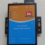 Hotcom HT403-R3-S20 Serial To Fiber Optic Converter - 20km, SC Dual Fiber