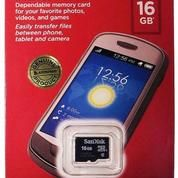 Sandisk Micro SD 16GB ORIGINAL Garansi Resmi Sandisk Indonesia