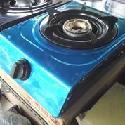 Kompor Gas 1 Tungku Bahan Steanlees 1 Set Siap Kirim Free Pemasangan