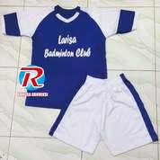 Baju Badminton/Jersey Bulutangkis Murah/Setelan Jersey Badminton Jogja 2017