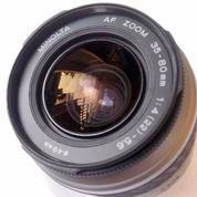 Lensa Minolta 35-80mm F4-22 Bisa Untuk Sony Alpha 230 Lan