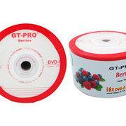 DVD R GT-PRO BERRIES 16X Pack Isi 50pcs, DVD Murah, DVD Blank Kosong