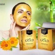 Hanasui Gold Peel Off Mask BPOM Original - Naturgo Gold