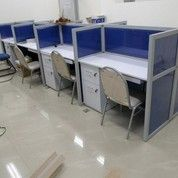 Cubicle Workstation Plywood Material