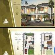 Rumah Baru 2Lt Puri Indah Ketintang Madya Surabaya Selatan