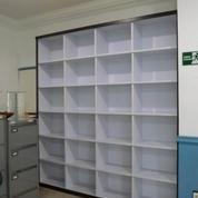 Rak Arsip Dokumen Kantor Tanpa Pintu + Furniture Semarang