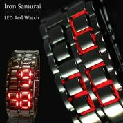 Jam Tangan LED Metal Samurai IMPORT