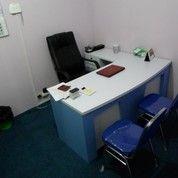 Meja Kantor L - Shape + Furniture Semarang
