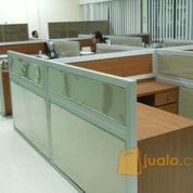 Cubicle Workstation - Meja Sekat Untuk Kantor / Warnet - Furniture Semarang