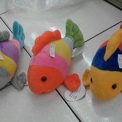 "Boneka Mainan Ikan "" Tropical Fish / Ikan Tropis "" SNI Ukuran M Kurleb 30cm"
