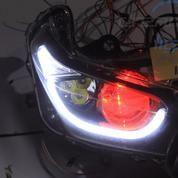Yamaha XMAX Custom Headlamp OEM Jazz RS LED Projector Projie DRL Cree