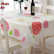 Taplak Meja Table Cloth Waterproof Cantik