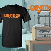 Kaos T-Shirt Orange Amplifier Di Bandung