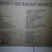 Monitor LCD Komputer Hp LV1911 18,5-Inch