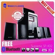 Speaker + Player Supreme 402 Free Dongle Bluetooth