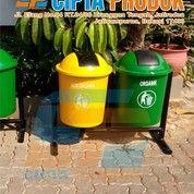 Tempat Sampah Fiber Bulat Bekasi