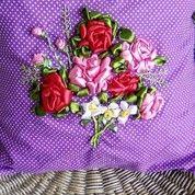 Sarung Bantal Hias Purple Sweet