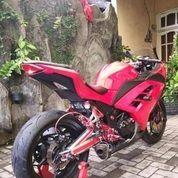 Kawasaki Ninja 250 ABS Merah 2014 Modifikasion