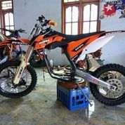 Rangka MOTOR Trail Pnp All Mesin