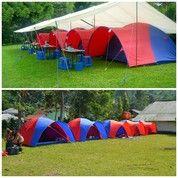 Tenda Doom Besar Uk Regu 8 Orang 3x3 Meter.