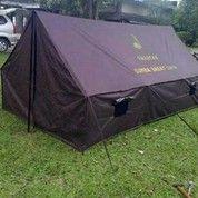 Tenda Regu/Pramuka 3x4meter D300 TNI. Kapasitas 10 Orang Dewasa