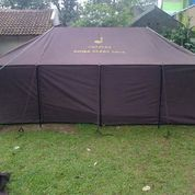 Tenda Pleton TNI Polri. 4x6m Kap. 25-30orang