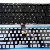 Keyboard APPLE A1286 Backlite Black
