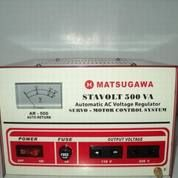 Stavolt MATSUGAWA 500VA Automatic AC Voltage Regulator Servo Motor 500