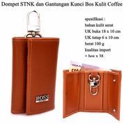 Dompet STNK Dan Gantungan Kunci Bos Coffee