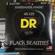 DR Strings BLACK BEAUTIES Black Coated 5-String Bass Murah Di Bandung