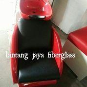 Kursi Keramas Duduk Merah Hitam
