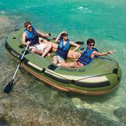 Perahu Karet Portable Merk Bestway Bahan Kuat Tidak Mudah Bocor MURAH