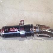 Knalpot Racing Karbon Merk Black Diamond C2 Untuk CBR 150