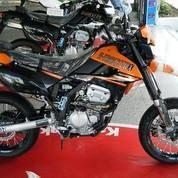 Motor Kawasaki D-Tracker 150