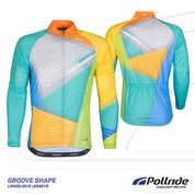 JERSEY SEPEDA POL GROOVE SHAVE LONG SLEEVES